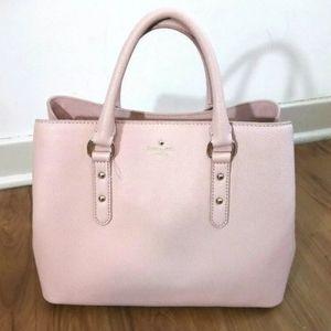 Kate Spade Evangelie Pink Leather Crossbody Bag